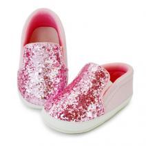 tony sparkly pink